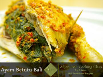 Balinese Betutu Siap Recipes (Ayam Betutu)