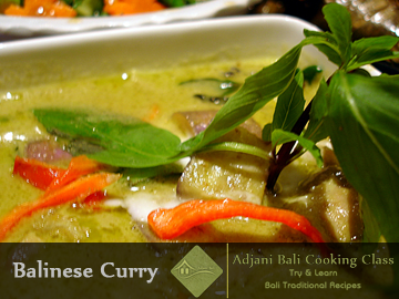 Balinese Curry Recipes