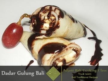 Balinese Dadar Cake Recipes (For desert)