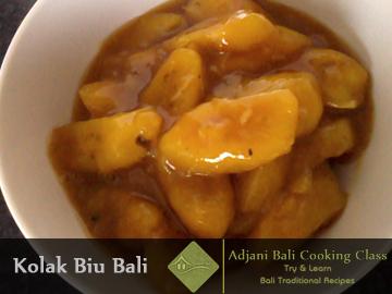 Balinese Kolak Biu Recipes