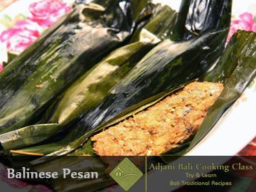 Balinese Pesan Recipes (Pepes Ikan)