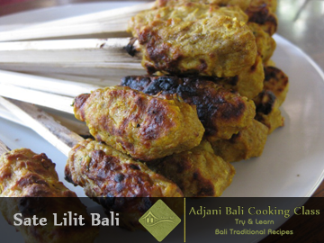 Balinese Sate Lilit Recipes