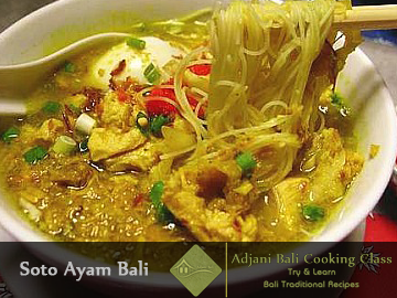 Balinese Soto ayam Recipes (Chiken Soup)