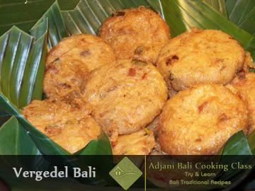 Balinese Vergedel Kentang Recipes