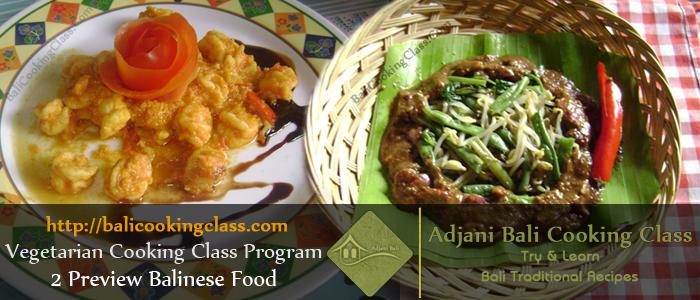 Vegetarian Cooking Class Program